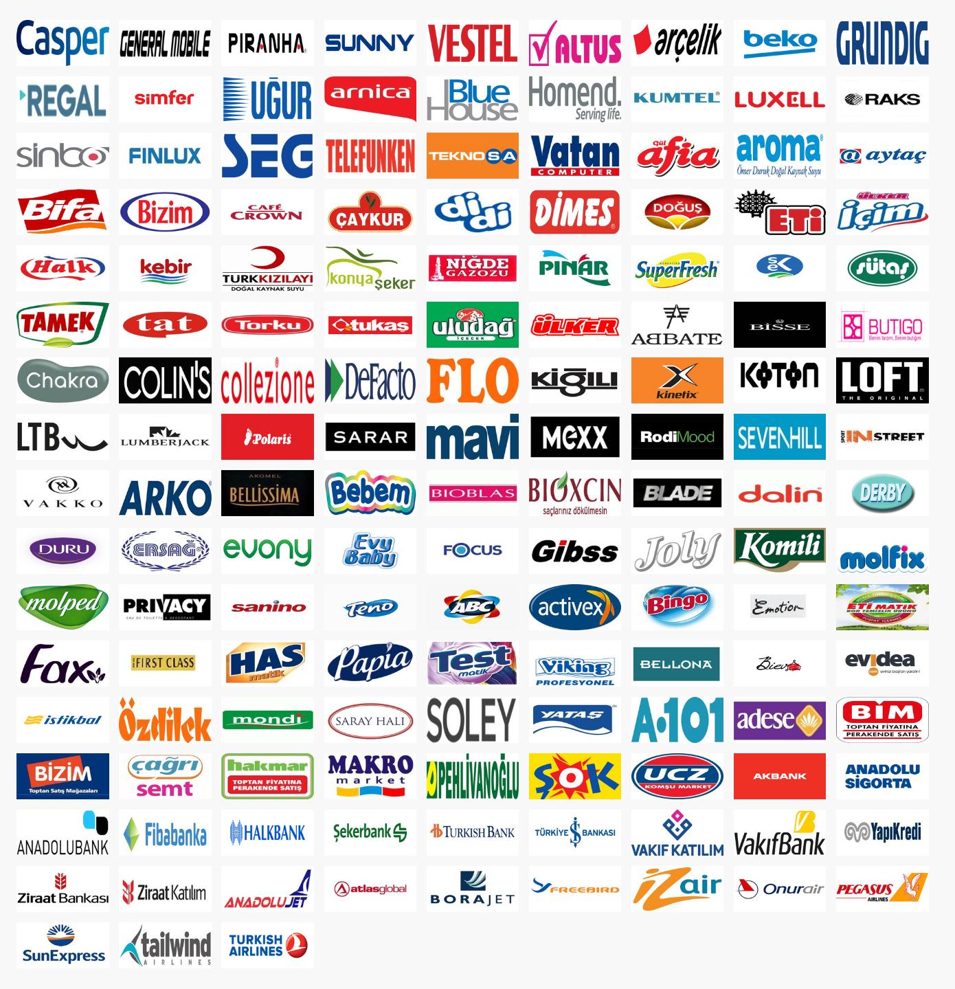 Yerli Markalar Listesi Yerli Markalar Türk ürünleri