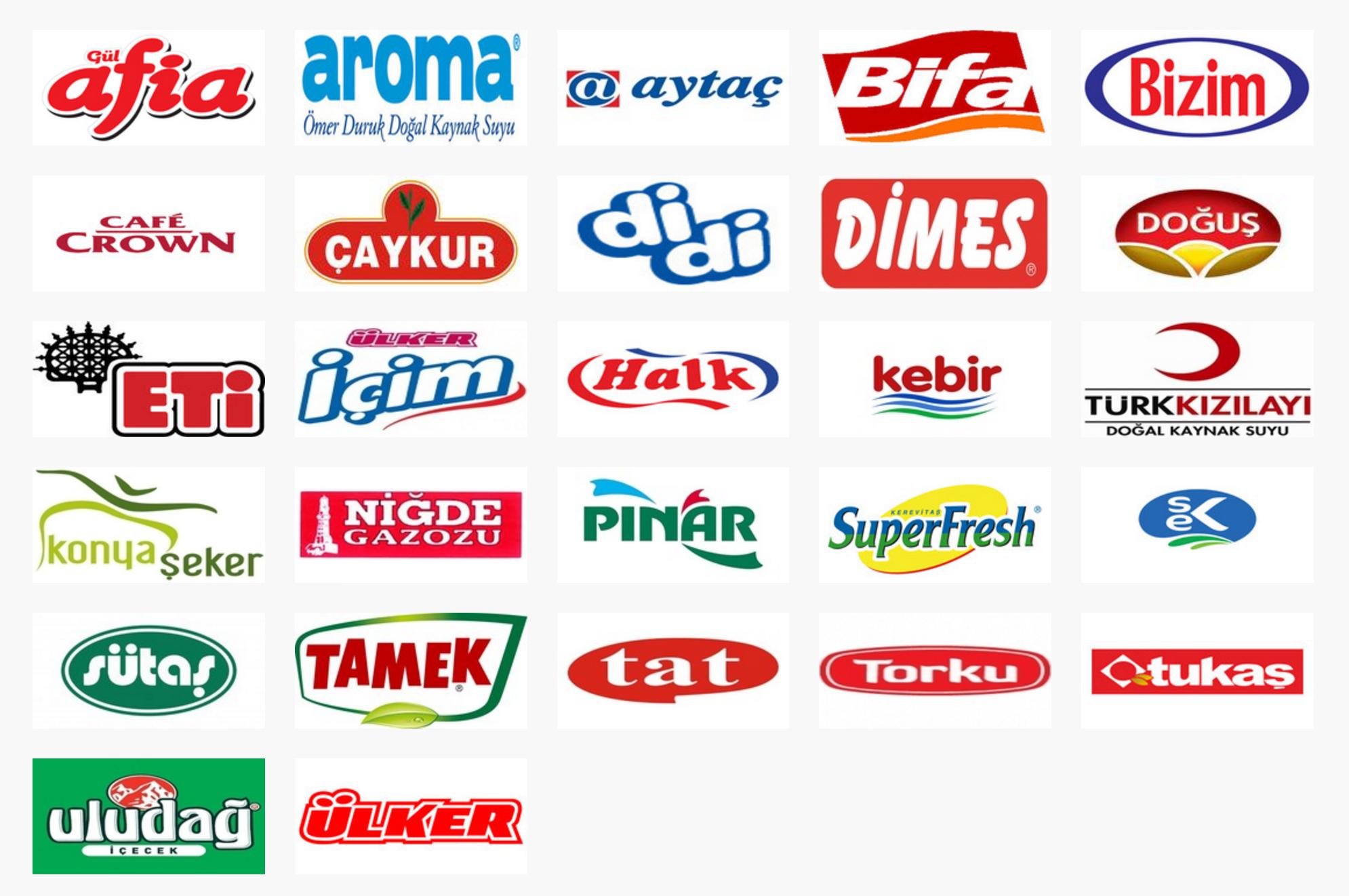 Gıda Yerli Markalar Türk ürünleri